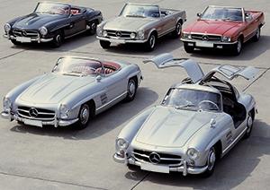 Classic Mercedes Cars